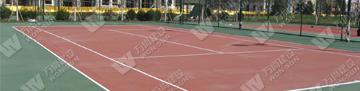 天津锦秀香江网球场