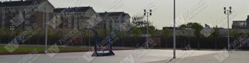 北京某部队室外球场